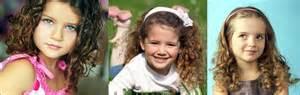 Model rambut anak perempuan ikal keriting