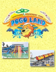 Pogoland Amusement Park in Puducherry