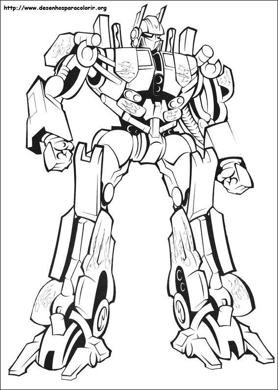 Desenhos para colorir de Transformers - imagens para colorir transformers