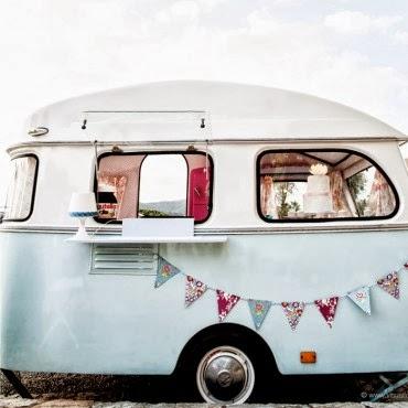 Una boda original furgoneta crepes