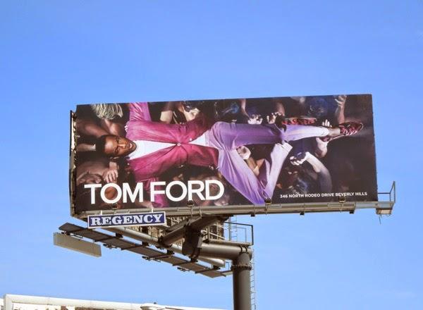 Tom Ford Spring 2014 male model billboard