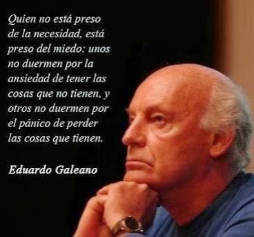 Eduardo Galeano (imagen con frase)