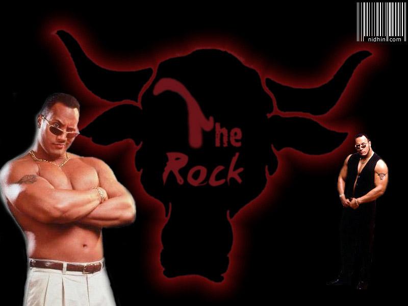 The Rock Wallpaper | 3D Wallpaper | Nature Wallpaper ...