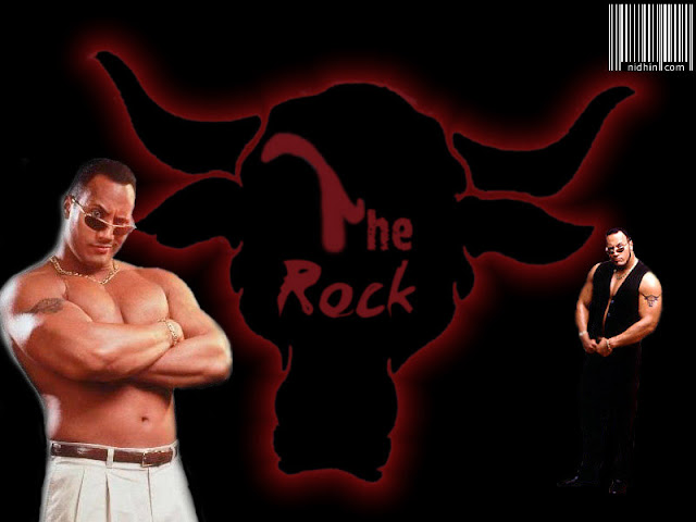 WweThe Rock Photos
