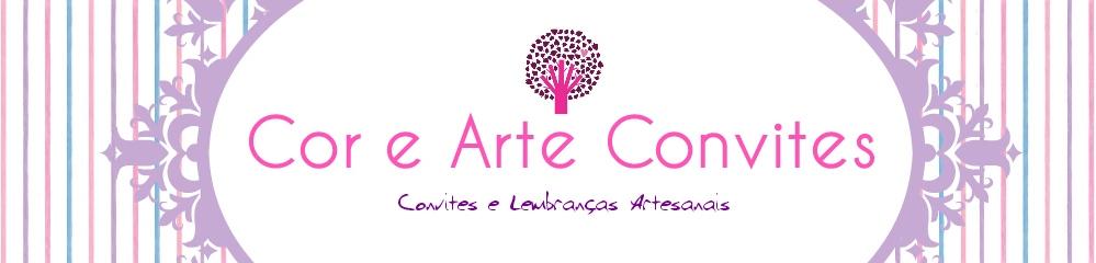 Cor e Arte Convites e Lembranças