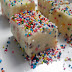 Funfetti Cake Batter Fudge