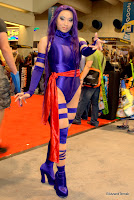 cosplay yaya han as psylocke