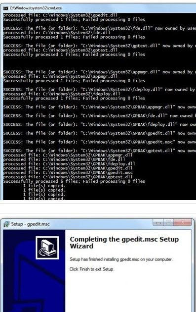 how to run gpedit in windows 7