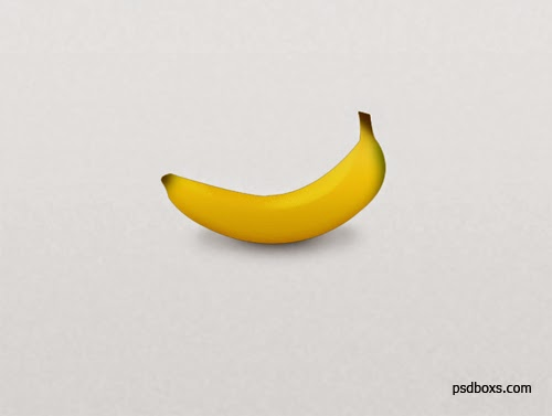 Make Realistic Banana In Photoshop