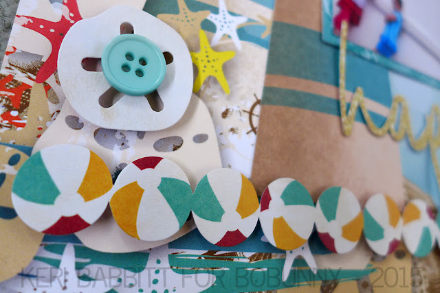 Happy Place Misc Me Tutorial by Keri Babbitt using Boardwalk Collection