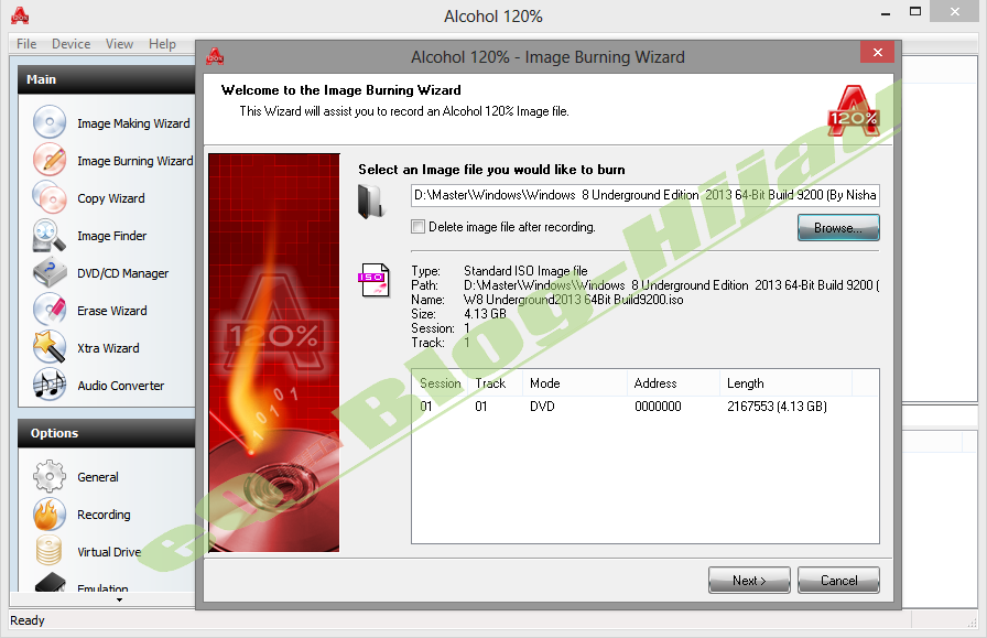 Download alcohol 120 cracked version.