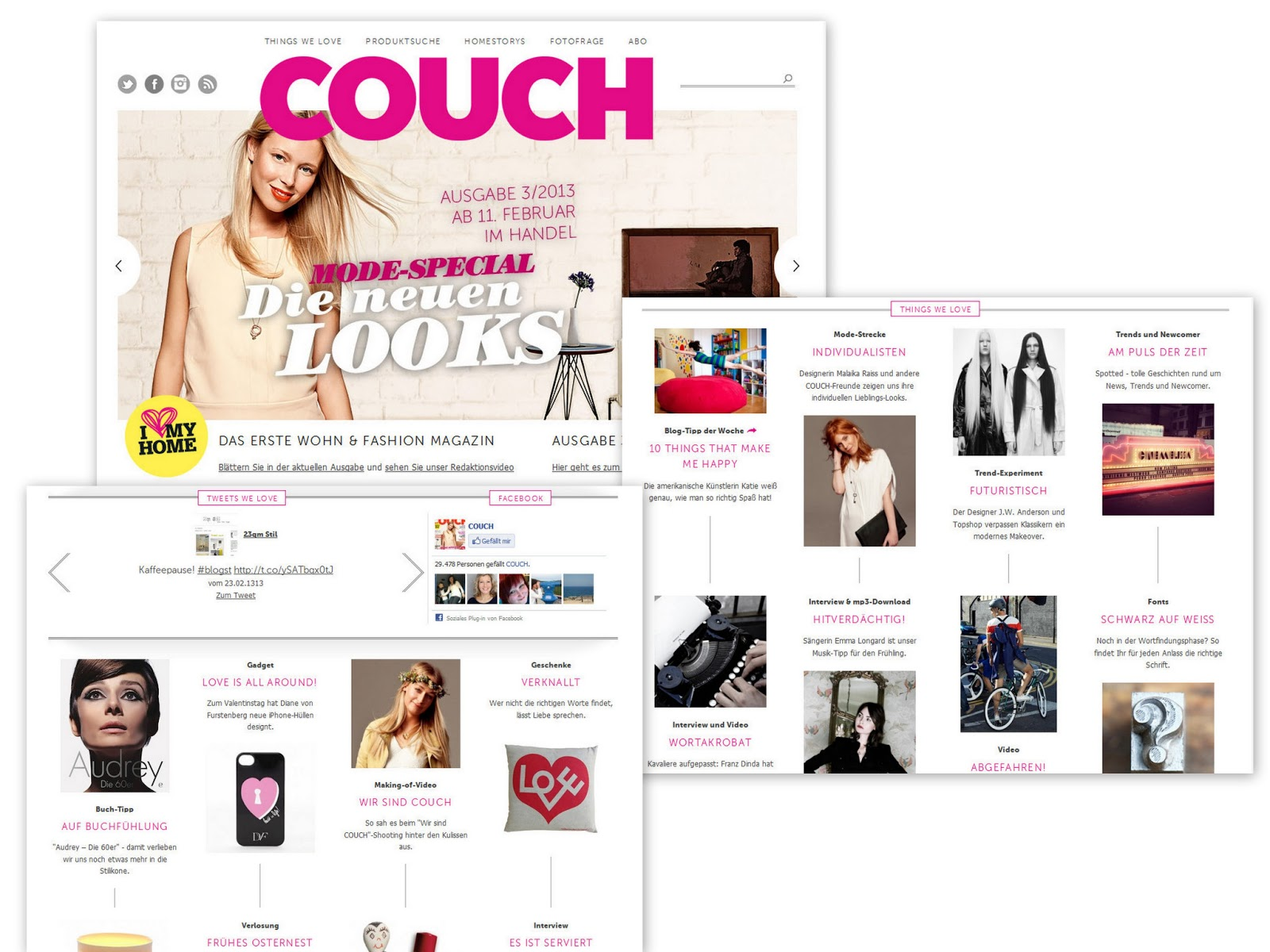 what do you fancy couch mag das wohn fashion magazin. Black Bedroom Furniture Sets. Home Design Ideas