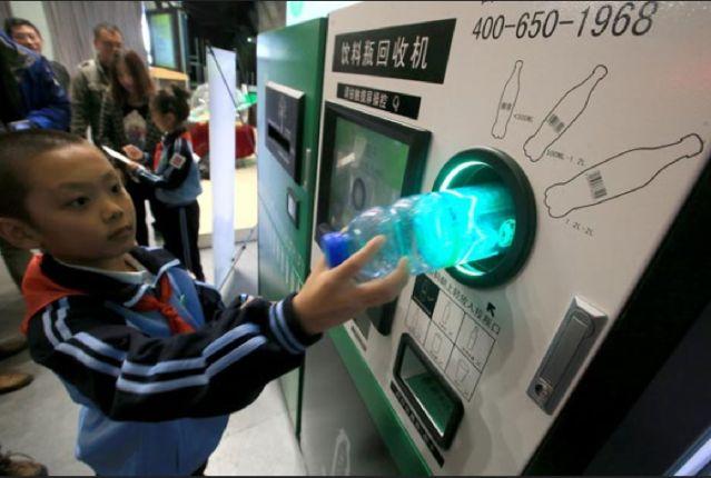 En pek n las personas pagan sus boletos de metro con - Maquina de reciclaje de plastico ...