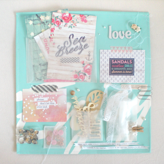 Mood board created by Lucia Barabas for Mei Li Paperie