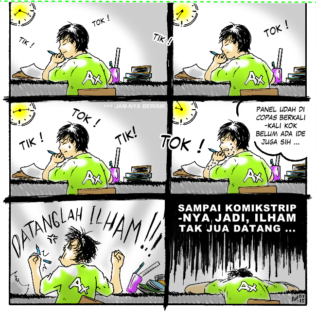axstrip#Menunggu ILHAM_page2_by Ax!