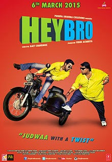 Watch Hey Bro (2015) DVDRip Hindi Full Movie Watch Online Free Download