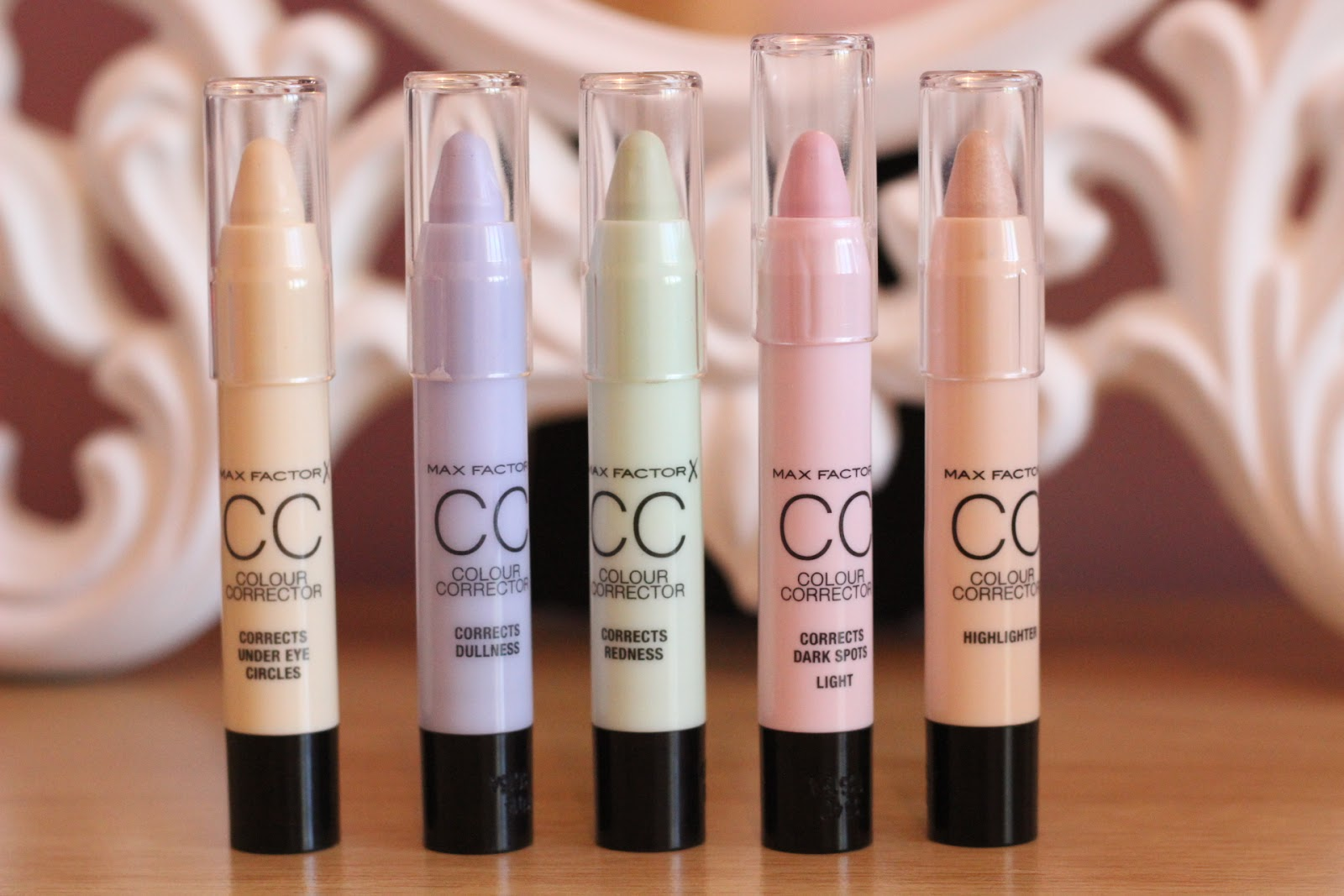 colour correcting products