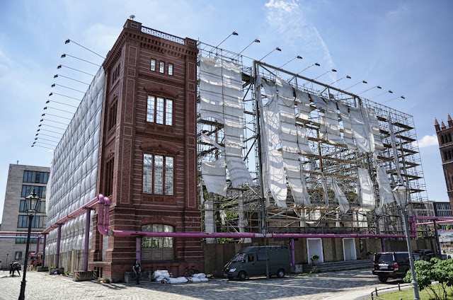 Baustelle Bauakademie von Karl Friedrich Schinkel, Werderscher Markt, 10117 Berlin, 17.06.2013