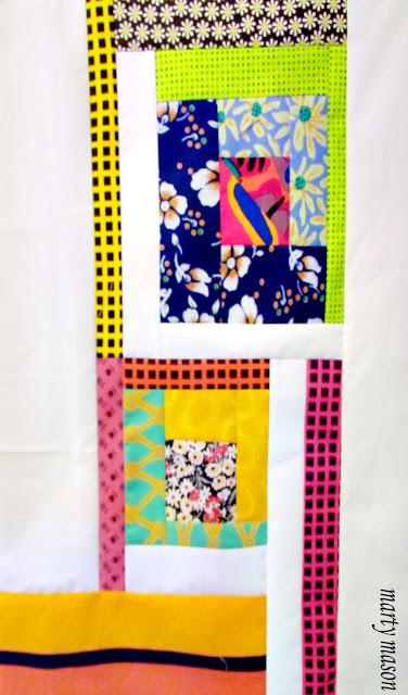 modern improvisational quilt sampler