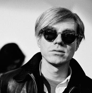 Andy Warhol in MOSCOT Miltzen tartarugato