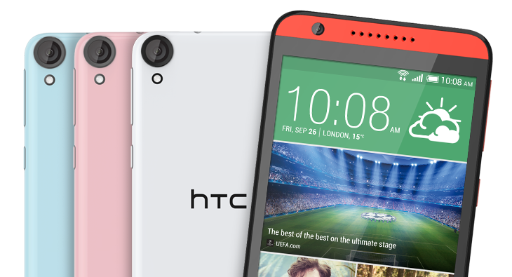 Qualcomm Octa-Core 64-bit, HTC Desire 820, new Android smartphone, BSI sensor,  new HTC smartphone