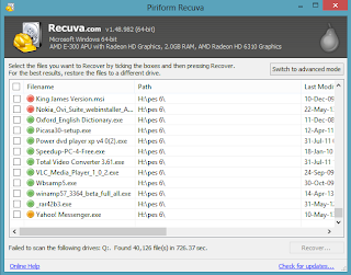 How to Retrieve Completely Deleted File(s) Using Recuva