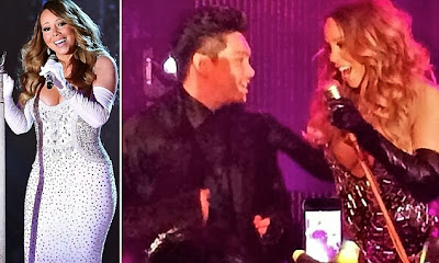Mariah Carey performing for the Sultan of Brunei's son