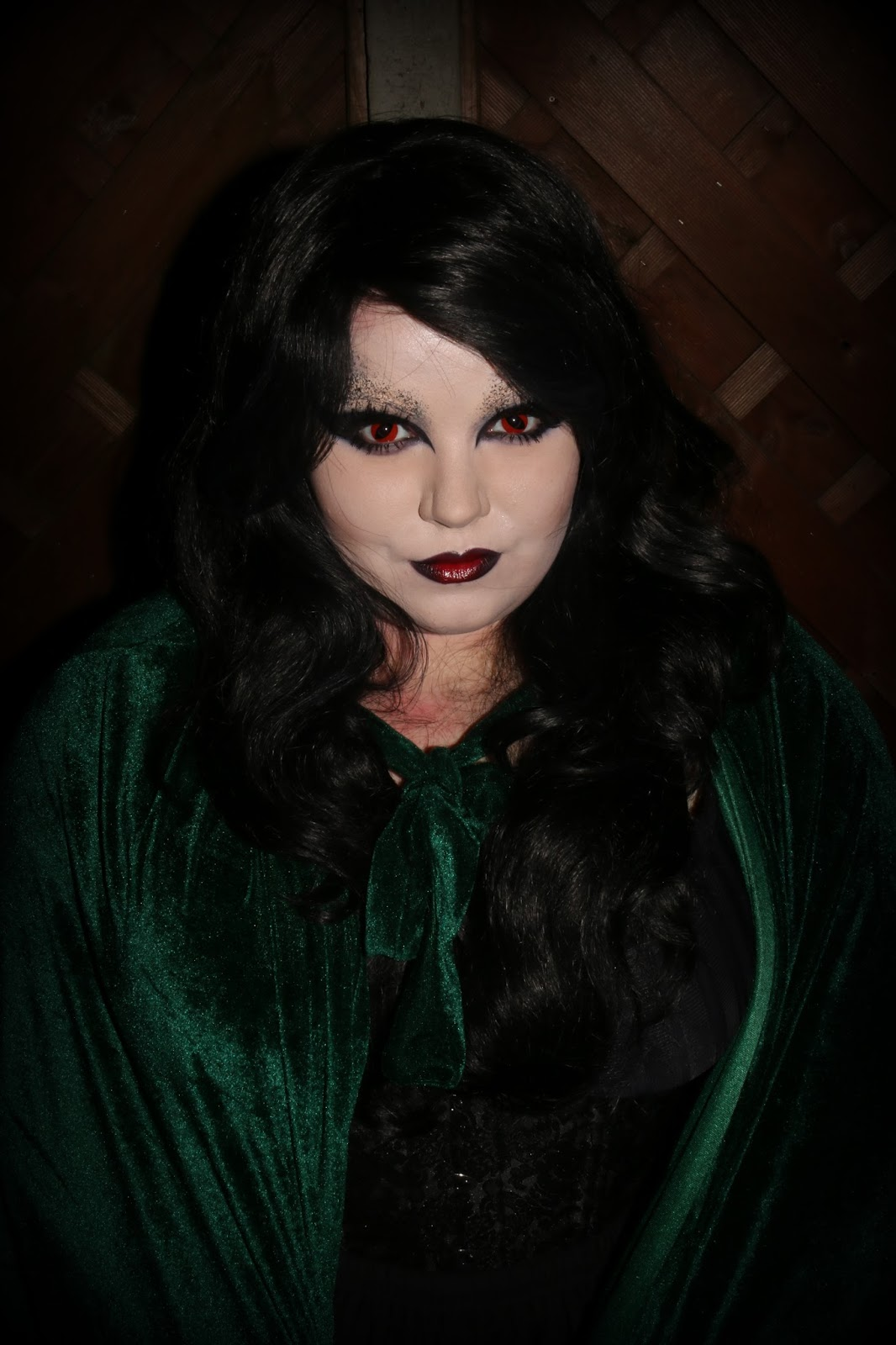 Bride of Dracula Halloween Look with Dance Depot