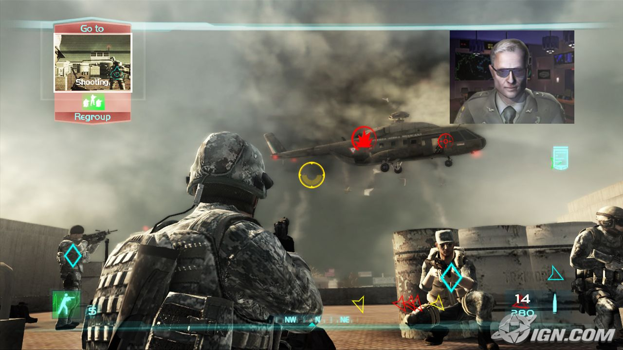 Ghost Recon Advanced Warfighter Screenshot 1