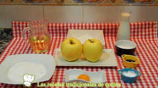 Postre fácil de manzanas fritas