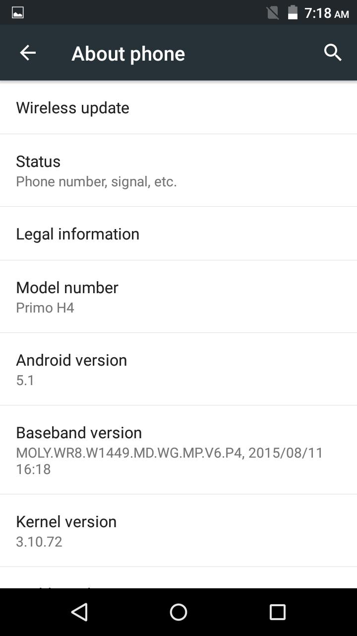 Primo H4 review OS