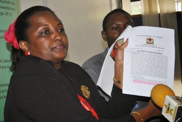 Wizara ya Kilimo na Sekretariet ya Ajira katika Utumishi wa Umma.