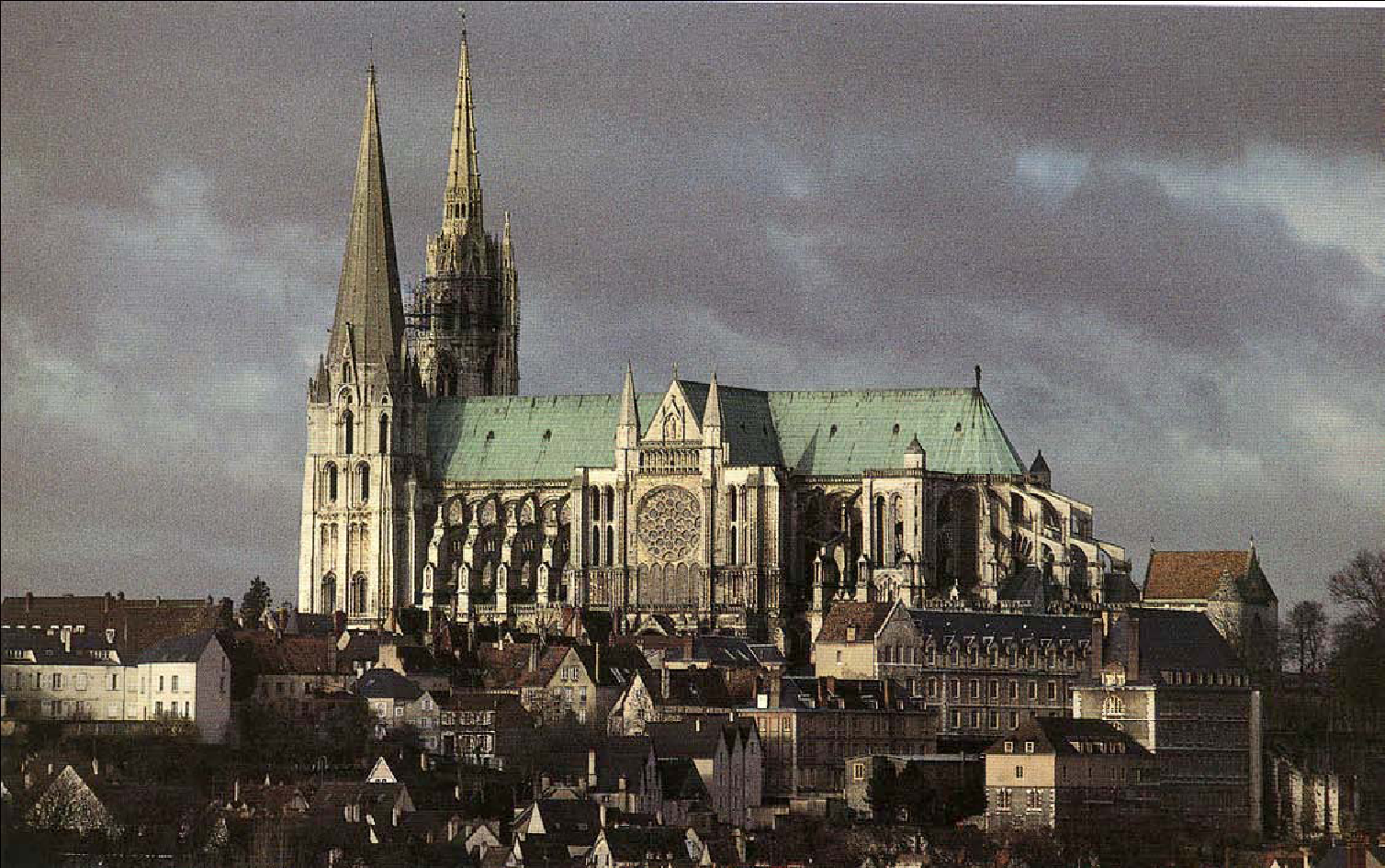 Chartres France  City pictures : Living in the Lot: Chartres Cathedral and Malcolm Miller