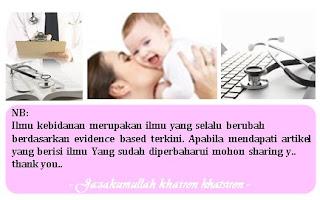 Checklist anamnesa Ibu Nifas