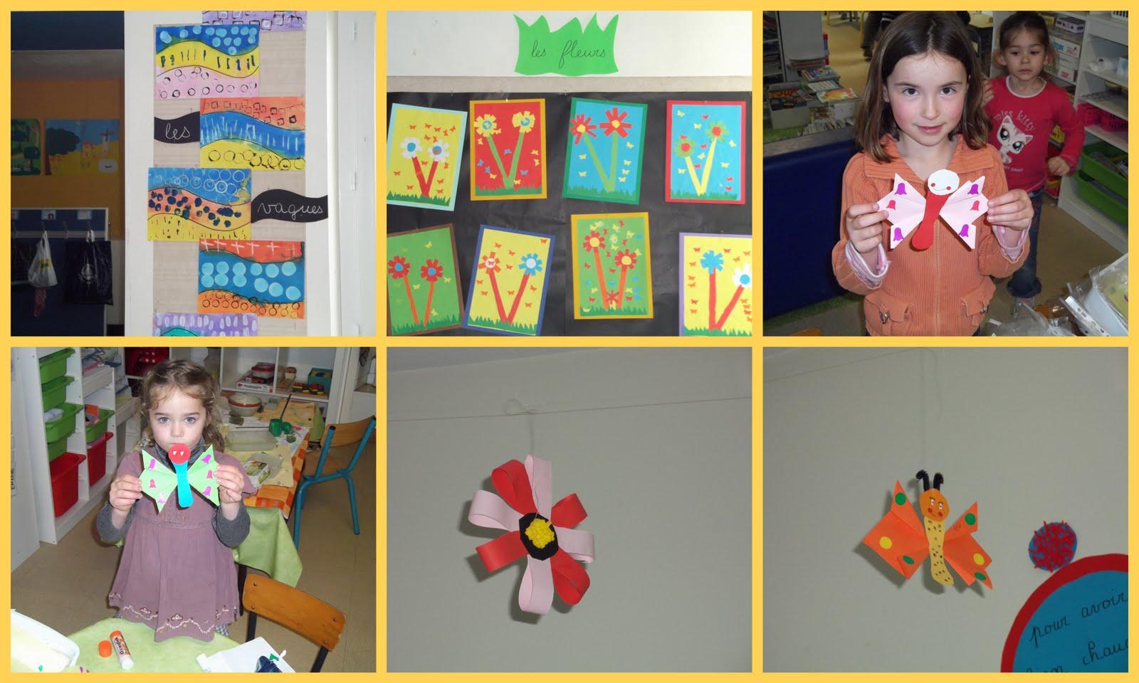 Ecole notre dame de terves activit s de printemps for Decoration fenetre printemps maternelle