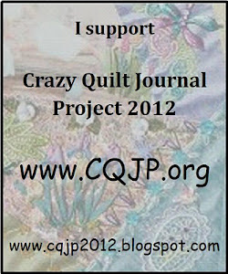 Crazy Quilt Journal Project