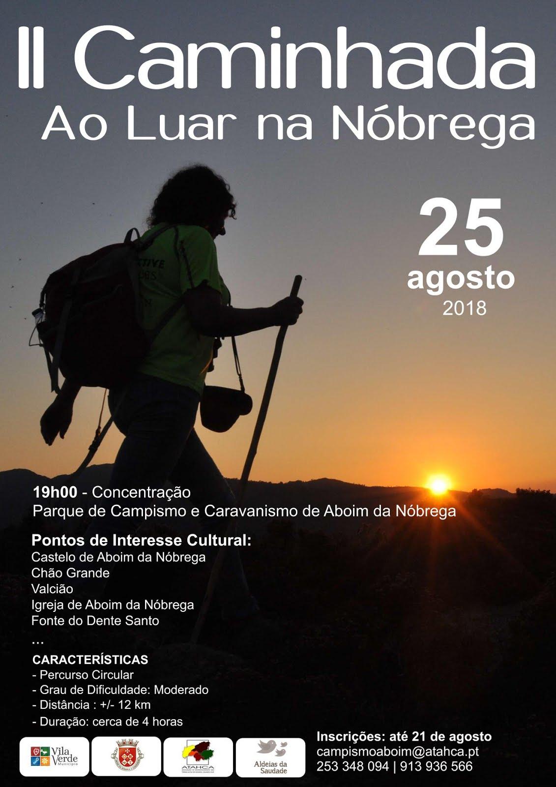 """II Caminhada """"Ao Luar na Nóbrega"""""""