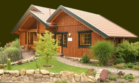 Casas con teja quotes - Tejas para casas de madera ...