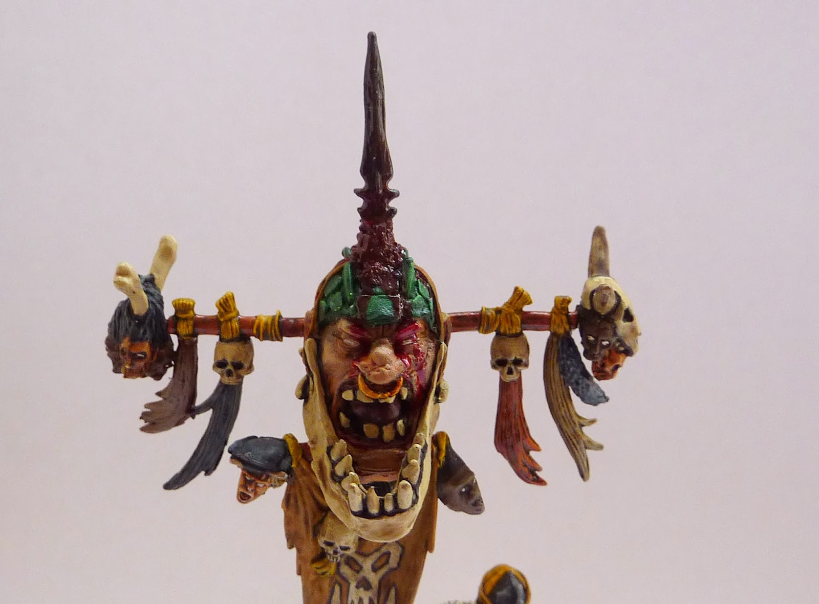 Savage Orc Battle Standard conversion