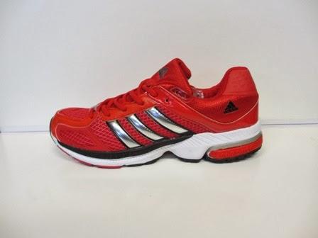 jual adidas running merah