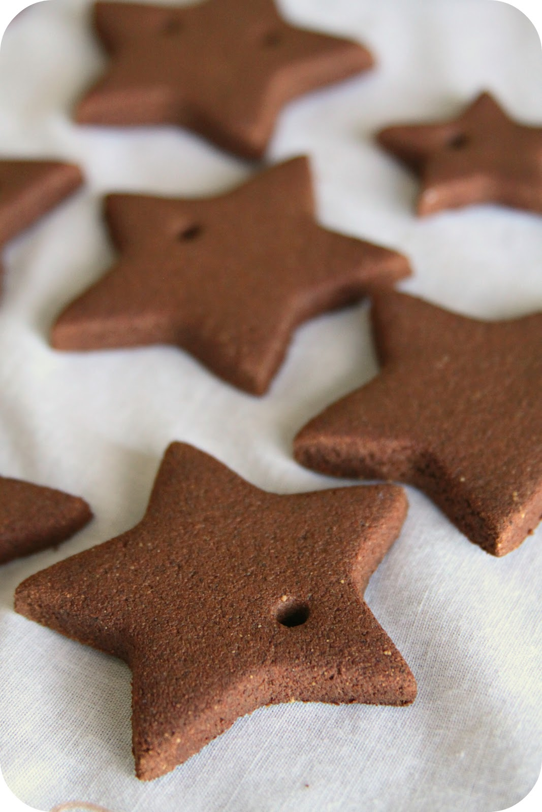 whimsy love  diy  cinnamon ornaments