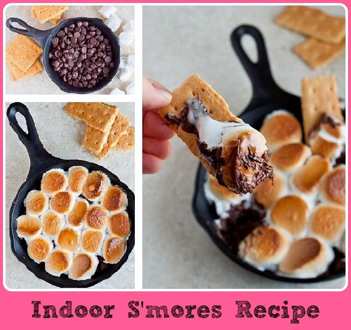 Diy Projects: DIY Indoor S'mores Recipe