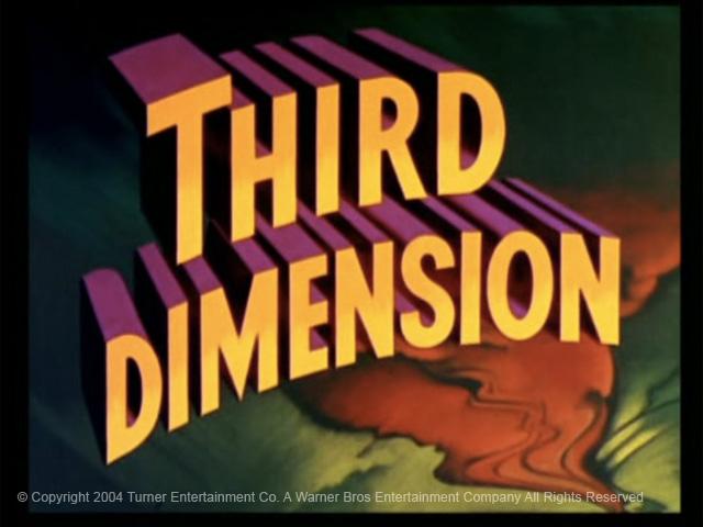 La tercera dimensión llegó a los cines en los años 50.