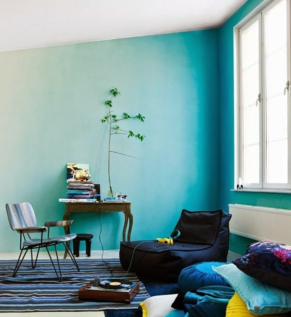 10 creative wall painting ideas and techniques for all rooms for Easy wall painting techniques