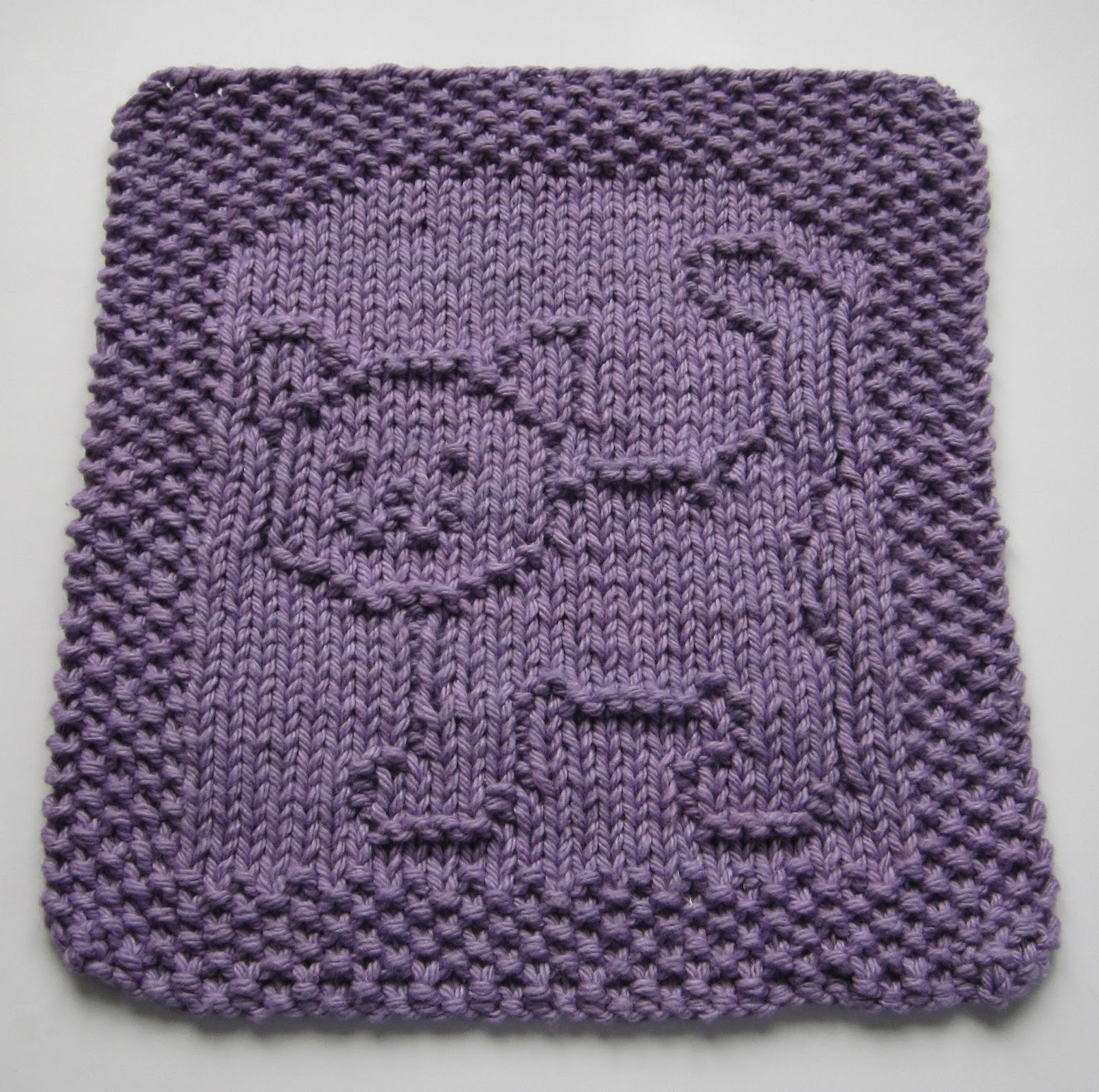 Free Knitting Pattern Butterfly Dishcloth : Down Cloverlaine: Purrfect