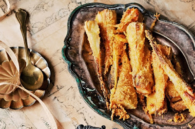 Parmesan parsnips Recipe