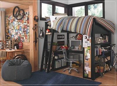 Vintage home dormitorios juveniles para hombres for Dormitorios juveniles para hombres