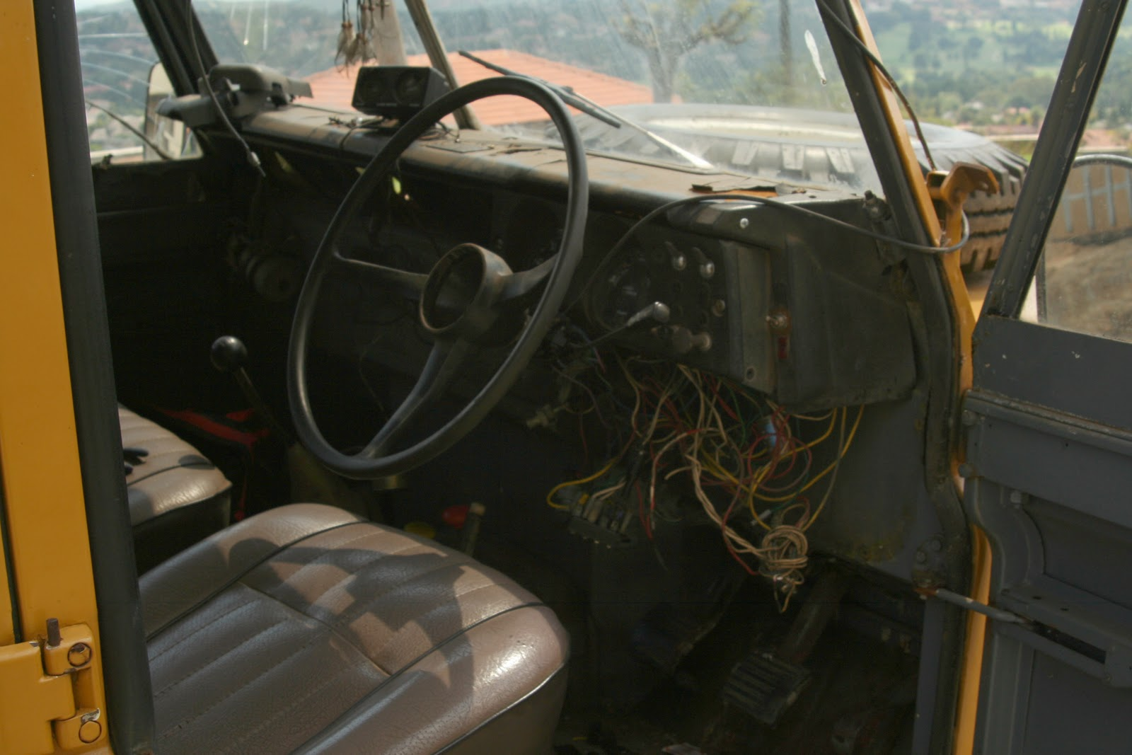 Rebuilding A Legendary Land Rover Series 3 Iii Wiring I Have Included Some Pics Of The Vehicle Before And After Will Add New Ones Once Is Back Such Simple Really Do Not Understand All