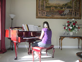 Heather Playing the Piano