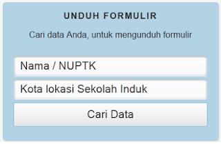Pengajuan dan Perbaikan NUPTK di Situs padamu.kemdikbud.go.id